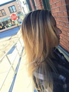 Hollie Curley Melted Balayage