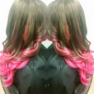 Jennifer Gates Pink Highlights